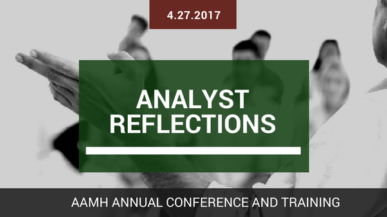 2017 Conference Analysts Reflections